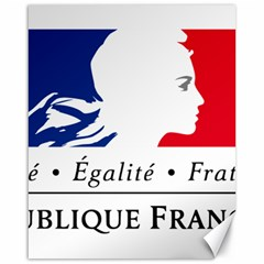 Symbol of the French Government Canvas 16  x 20