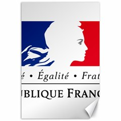 Symbol of the French Government Canvas 24  x 36