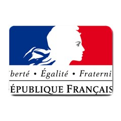 Symbol of the French Government Small Doormat