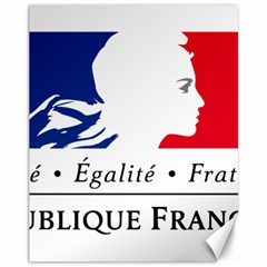 Symbol of the French Government Canvas 11  x 14