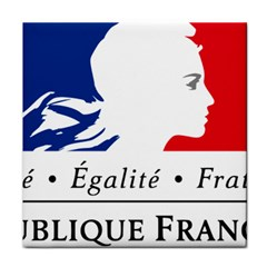 Symbol of the French Government Face Towel