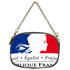Symbol of the French Government Chain Purses (One Side)