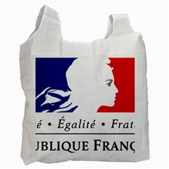 Symbol of the French Government Recycle Bag (Two Side)