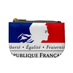 Symbol of the French Government Mini Coin Purses
