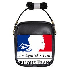 Symbol Of The French Government Girls Sling Bags