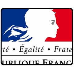Symbol of the French Government Fleece Blanket (Medium)