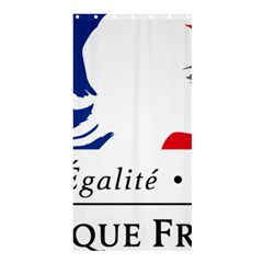 Symbol of the French Government Shower Curtain 36  x 72  (Stall)