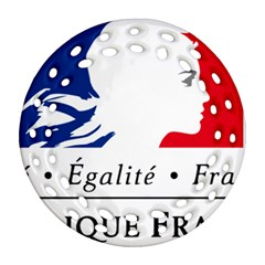 Symbol of the French Government Ornament (Round Filigree)