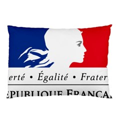 Symbol of the French Government Pillow Case (Two Sides)