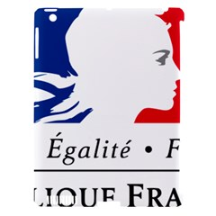 Symbol of the French Government Apple iPad 3/4 Hardshell Case (Compatible with Smart Cover)