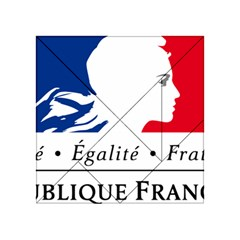 Symbol of the French Government Acrylic Tangram Puzzle (4  x 4 )