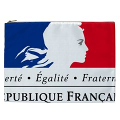 Symbol of the French Government Cosmetic Bag (XXL)