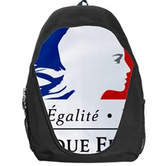 Symbol of the French Government Backpack Bag