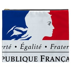 Symbol of the French Government Cosmetic Bag (XXXL)