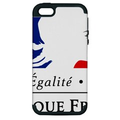 Symbol of the French Government Apple iPhone 5 Hardshell Case (PC+Silicone)