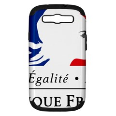 Symbol of the French Government Samsung Galaxy S III Hardshell Case (PC+Silicone)