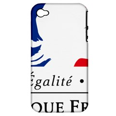 Symbol of the French Government Apple iPhone 4/4S Hardshell Case (PC+Silicone)