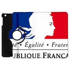 Symbol of the French Government Apple iPad Mini Flip 360 Case
