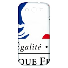 Symbol of the French Government Samsung Galaxy S3 S III Classic Hardshell Back Case
