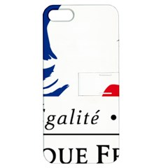 Symbol of the French Government Apple iPhone 5 Hardshell Case with Stand
