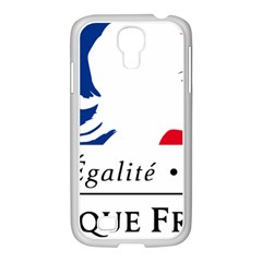 Symbol of the French Government Samsung GALAXY S4 I9500/ I9505 Case (White)