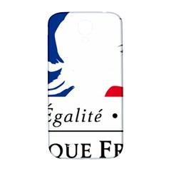Symbol of the French Government Samsung Galaxy S4 I9500/I9505  Hardshell Back Case