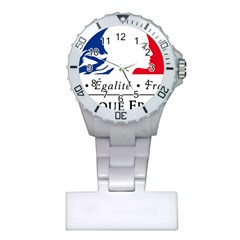Symbol of the French Government Plastic Nurses Watch