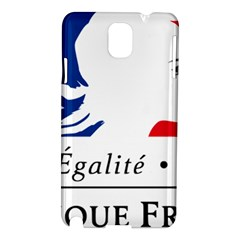 Symbol of the French Government Samsung Galaxy Note 3 N9005 Hardshell Case