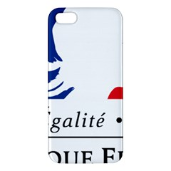 Symbol of the French Government iPhone 5S/ SE Premium Hardshell Case