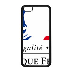 Symbol of the French Government Apple iPhone 5C Seamless Case (Black)