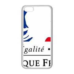 Symbol of the French Government Apple iPhone 5C Seamless Case (White)