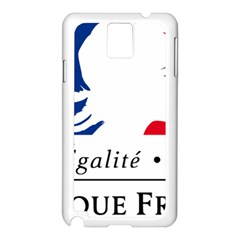 Symbol of the French Government Samsung Galaxy Note 3 N9005 Case (White)