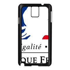 Symbol of the French Government Samsung Galaxy Note 3 N9005 Case (Black)