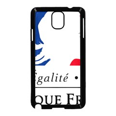 Symbol of the French Government Samsung Galaxy Note 3 Neo Hardshell Case (Black)