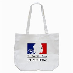 Symbol of the French Government Tote Bag (White)
