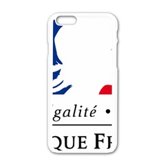 Symbol of the French Government Apple iPhone 6/6S White Enamel Case