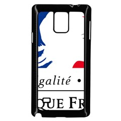 Symbol of the French Government Samsung Galaxy Note 4 Case (Black)