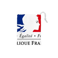 Symbol of the French Government Drawstring Pouches (XS)