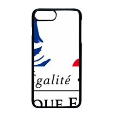 Symbol of the French Government Apple iPhone 7 Plus Seamless Case (Black)