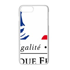 Symbol of the French Government Apple iPhone 7 Plus White Seamless Case