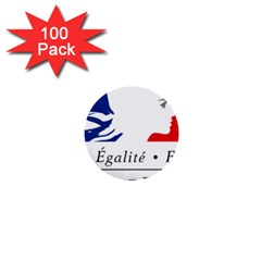 Symbol of the French Government 1  Mini Buttons (100 pack)