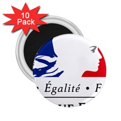 Symbol of the French Government 2.25  Magnets (10 pack)