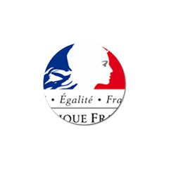 Symbol of the French Government Golf Ball Marker (4 pack)