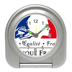 Symbol of the French Government Travel Alarm Clocks