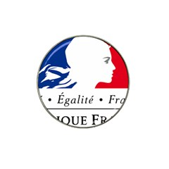 Symbol of the French Government Hat Clip Ball Marker (4 pack)