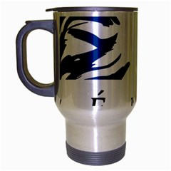 Symbol of the French Government Travel Mug (Silver Gray)