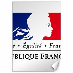 Symbol of the French Government Canvas 12  x 18