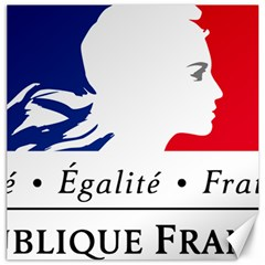 Symbol of the French Government Canvas 16  x 16