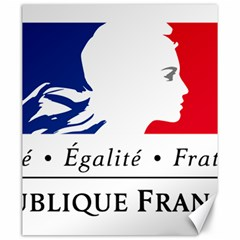 Symbol of the French Government Canvas 20  x 24