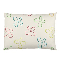 Flower Background Nature Floral Pillow Case